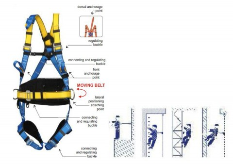 SAFETY HARNESS - RM-P-61