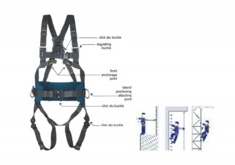 SAFETY HARNESS NON FLAMMABLE - RM-P-50N
